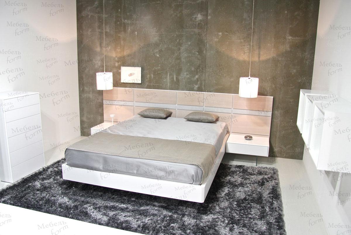 белая элегантная спальня спальни на заказ в минске